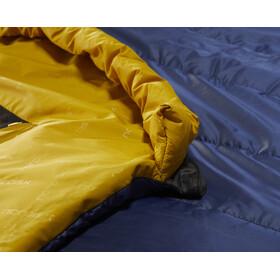 Nordisk Puk +4° Egg Slaapzak XL, true navy/mustard yellow/black